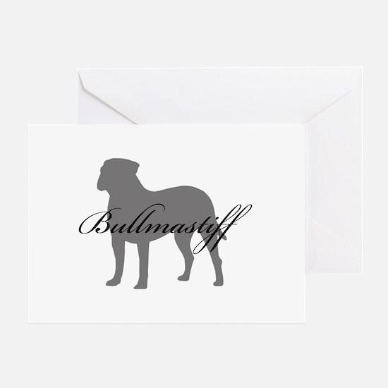 Bullmastiff Greeting Card