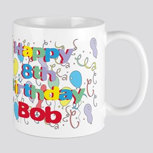 Bob's 8th Birthday Mug