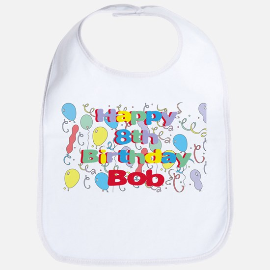 Bob's 8th Birthday Bib