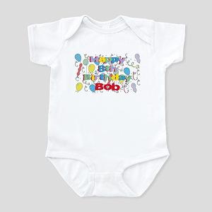 Bob's 8th Birthday Infant Bodysuit