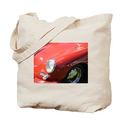 The Little Red Porsche Tote Bag