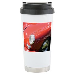 The Little Red Porsche Stainless Steel Travel Mug