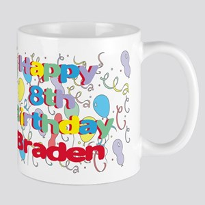 Braden's 8th Birthday Mug