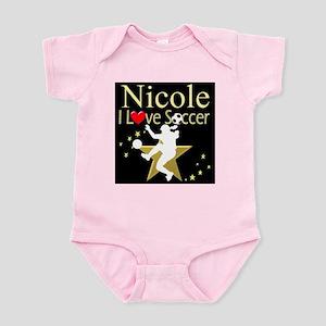 SOCCER GIRL Infant Bodysuit