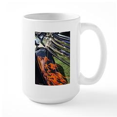Fire and Chrome Large Mug