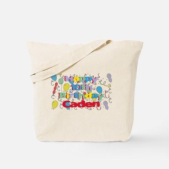 Caden's 10th Birthday Tote Bag