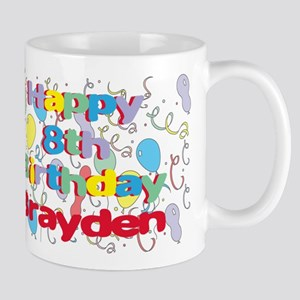 Brayden's 8th Birthday Mug