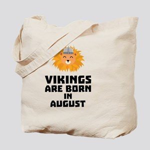 Vikings are born in December Cl9w1 Tote Bag