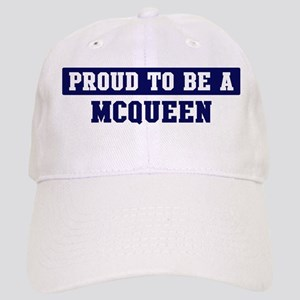 Proud to be Mcqueen Cap
