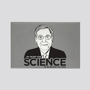 Mitch McConnell Science Rectangle Magnet
