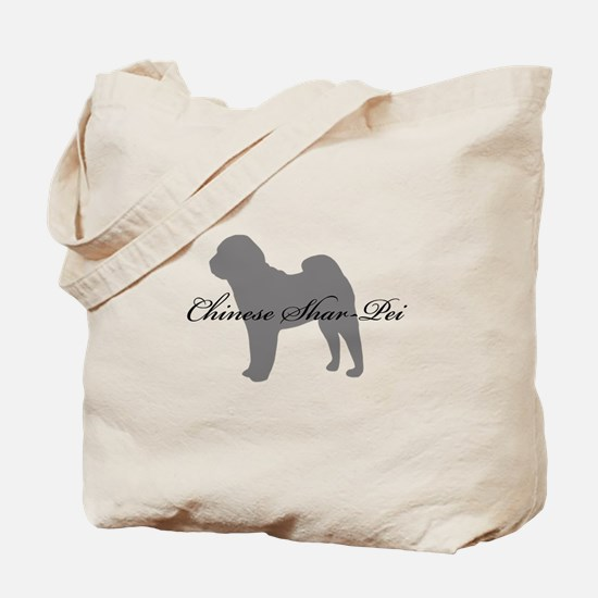 Chinese Shar Pei Tote Bag