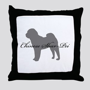 Chinese Shar Pei Throw Pillow