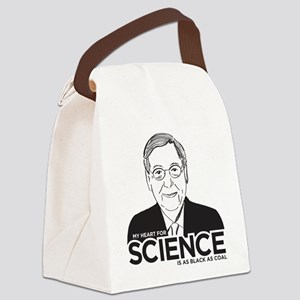 Mitch McConnell Science Canvas Lunch Bag