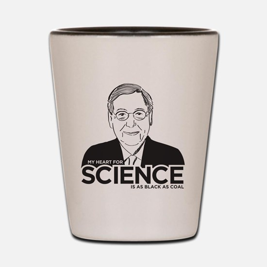 Mitch McConnell Science Shot Glass