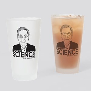 Mitch McConnell Science Drinking Glass