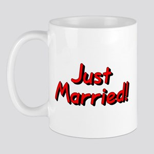 Just Married! (Red) Mug