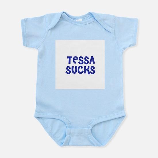 Tessa Sucks Infant Creeper