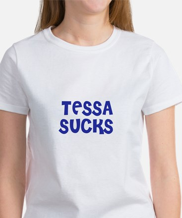 Tessa Sucks Women's T-Shirt
