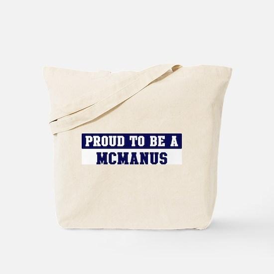 Proud to be Mcmanus Tote Bag