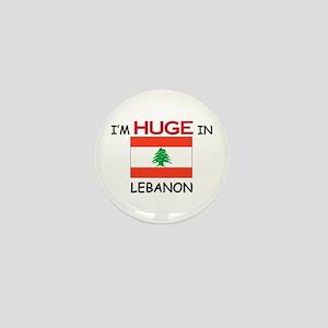 I'd HUGE In LEBANON Mini Button