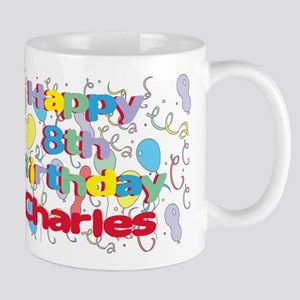 Charles's 8th Birthday Mug