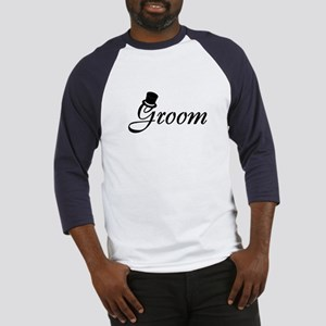 Groom (Top Hat) Baseball Jersey