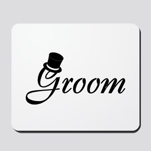 Groom (Top Hat) Mousepad