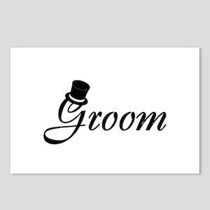 Groom (Top Hat) Postcards (Package of 8)