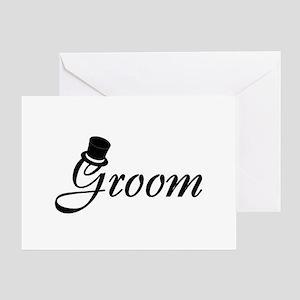 Groom (Top Hat) Greeting Card