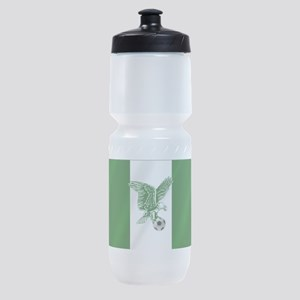 Nigerian Football Flag Sports Bottle