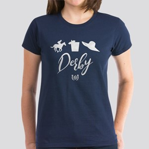 Kentucky Derby Icons Women's Dark T-Shirt
