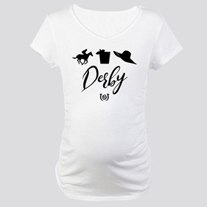 Kentucky Derby Icons Maternity T-Shirt