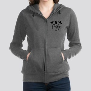 Kentucky Derby Icons Women's Zip Hoodie