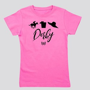 Kentucky Derby Icons Girl's Tee