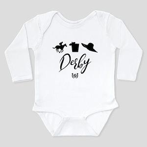 Kentucky Derby Icons Long Sleeve Infant Bodysuit