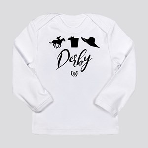Kentucky Derby Icons Long Sleeve Infant T-Shirt