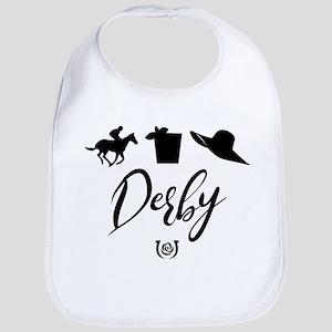 Kentucky Derby Icons Cotton Baby Bib