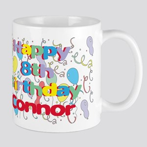 Connor's 8th Birthday Mug