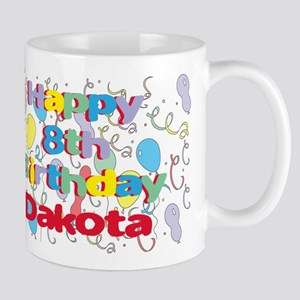 Dakota's 8th Birthday Mug