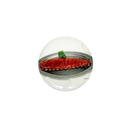 Ribs Long End Mini Button (100 pack)