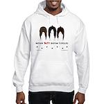 Nothin' Butt Boston Terriers Hooded Sweatshirt
