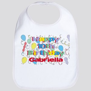 Gabriella's 10th Birthday Bib