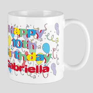 Gabriella's 10th Birthday Mug