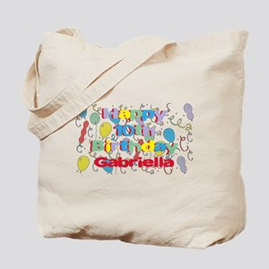 Gabriella's 10th Birthday Tote Bag