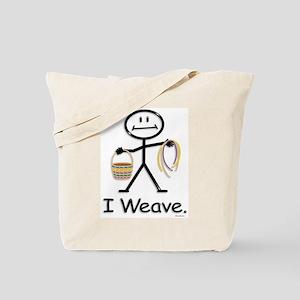 BusyBodies Basket Weaving Tote Bag
