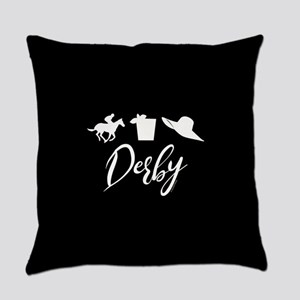 Kentucky Derby Icons Everyday Pillow