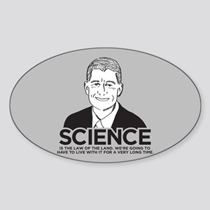 Paul Ryan Science Sticker (Oval)