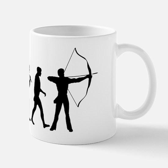 Evolution of Archery Mug