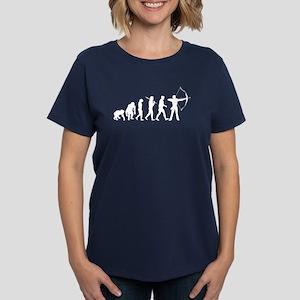 Evolution of Archery Women's Dark T-Shirt