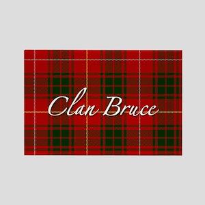 Clan Bruce - Just Tartan Rectangle Magnet